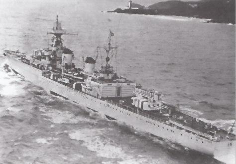 Le croiseur léger Georges Leygues en 1937