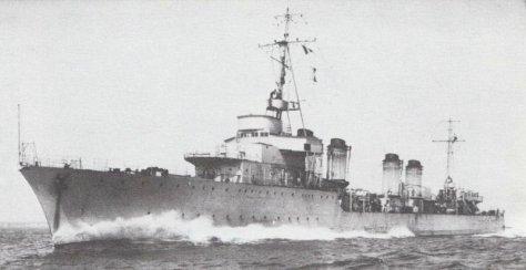 Le Gerfaut à la mer probablement durant ses essais à la mer