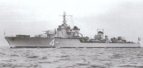 Le contre-torpilleur Mogador