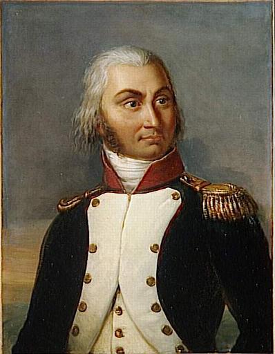 Jean Baptiste Jourdan (1762-1833) Maréchal d'Empire. N'obtint jamais le titre de Duc de Fleurus qu'il convoitait