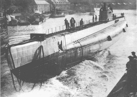 Lancement du sous-marin Le Centaure