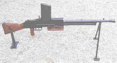 Le fusil-mitrailleur modèle 1924/29