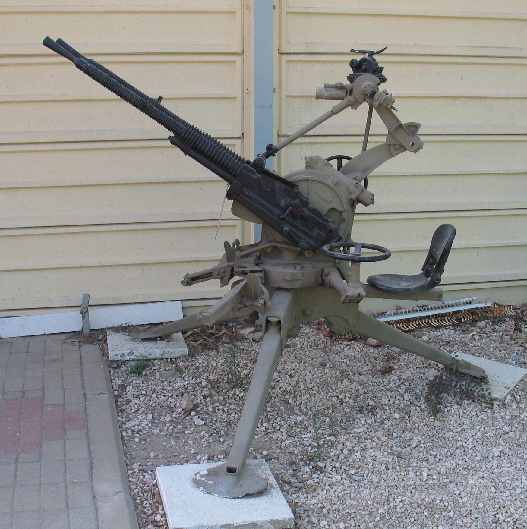 mitrailleuse de 13.2mm