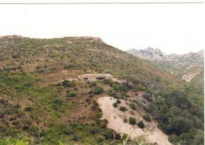 Casemate de Spinella près de Bonifaccio