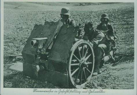 Le canon d'infanterie de 75mm