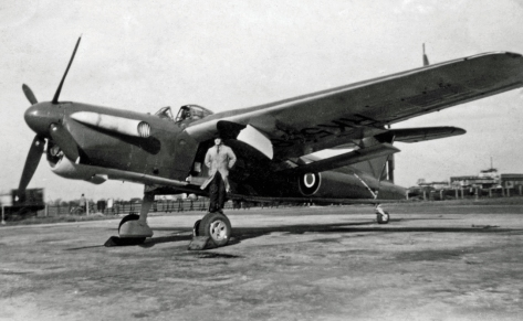 Fairey Barracuda, ugly but very effective (moche mais très efficace)