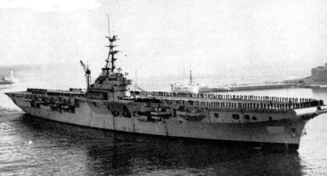Le Guillaume d'Orange, premier porte-avions de la marine néerlandaise