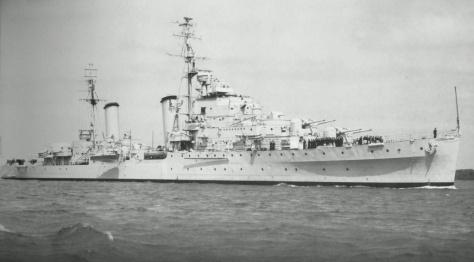 Le HMS Cleopatra