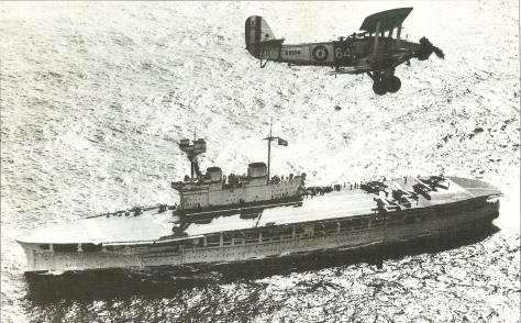 Le HMS Eagle