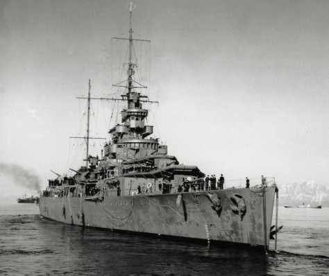 Le HMS Effingham