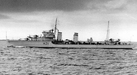 Le HMS Griffin