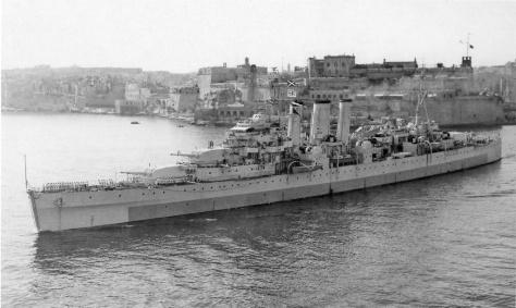 Le HMS Norfolk