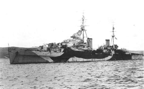Le HMS Spartan