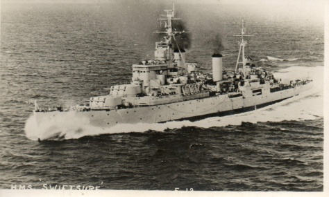 Le HMS Swiftsure