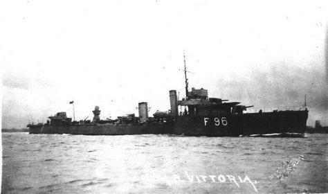 Le HMS Vittoria