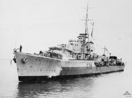 HMAS Nizam (G-38)