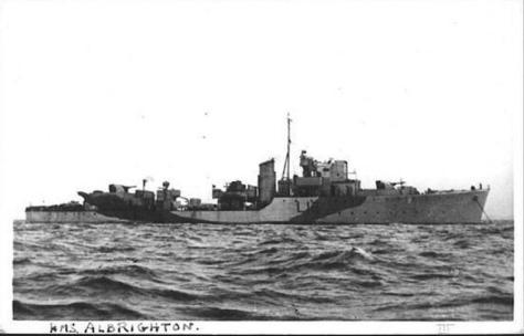 HMS Albrighton