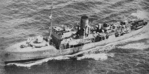 HMS Aubretia
