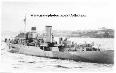 HMS Columbine