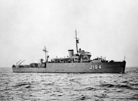 HMS Hythe