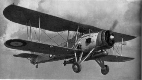 Fairey Swordfish en vol