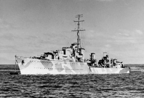 Le HMS Matabele (F-26)