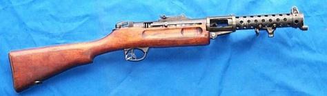 pistolet mitrailleur Lanchester