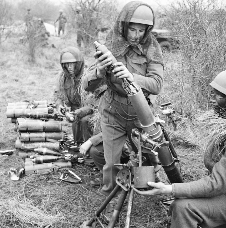 Ordnance ML 3 inch Mortar 5