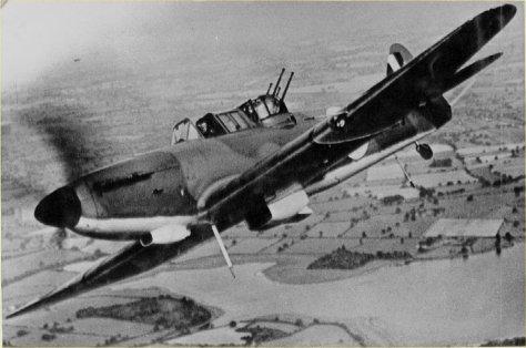 Boulton-Paul Defiant Mk I
