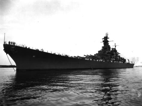 USS New Jersey 1943