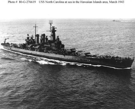 USS North Carolina 6