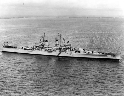 USS Baltimore (CA-68) 2 mod.