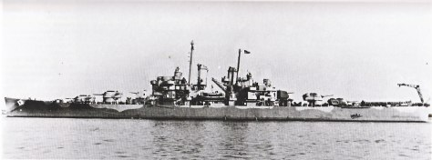 USS Cleveland 1943