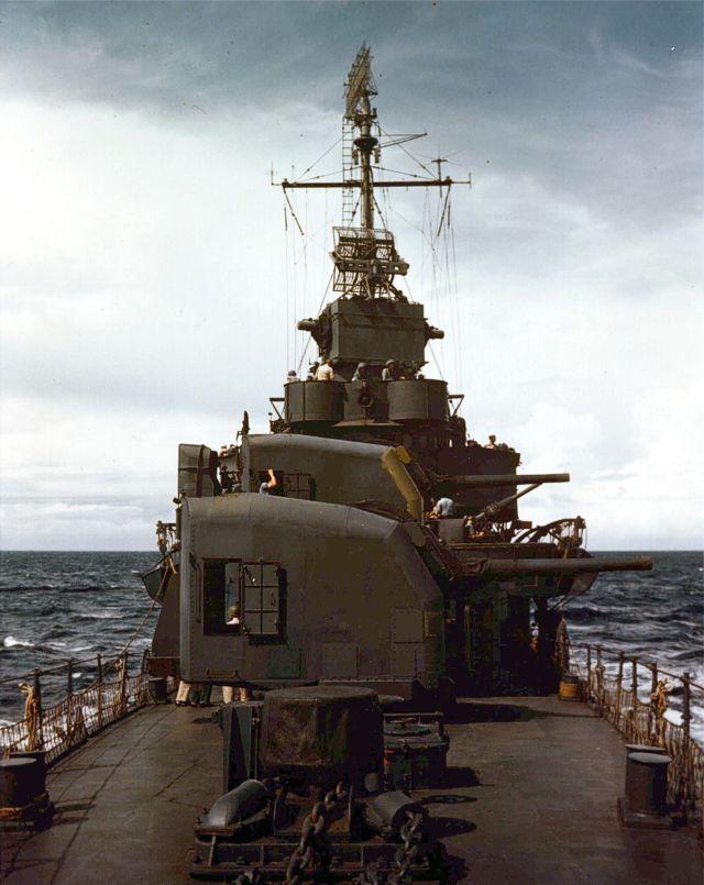 Canon de 127mm 38 calibres US Navy 55