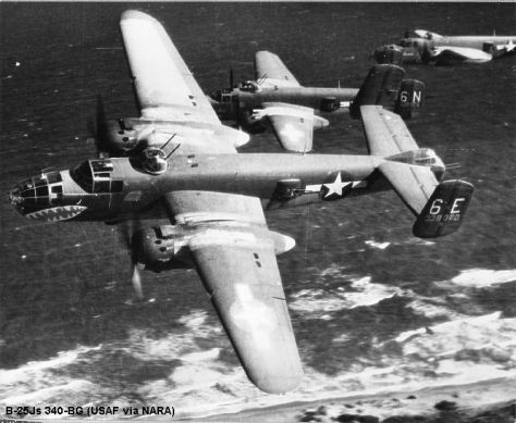 North American B-25 Mitchell WWII 5