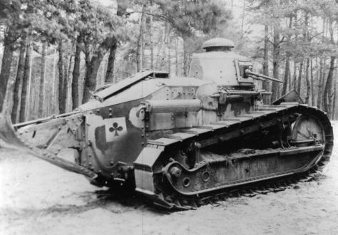 Renault FT mitrailleur 10